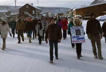"Dawson City ""Justice for Colten"" march"